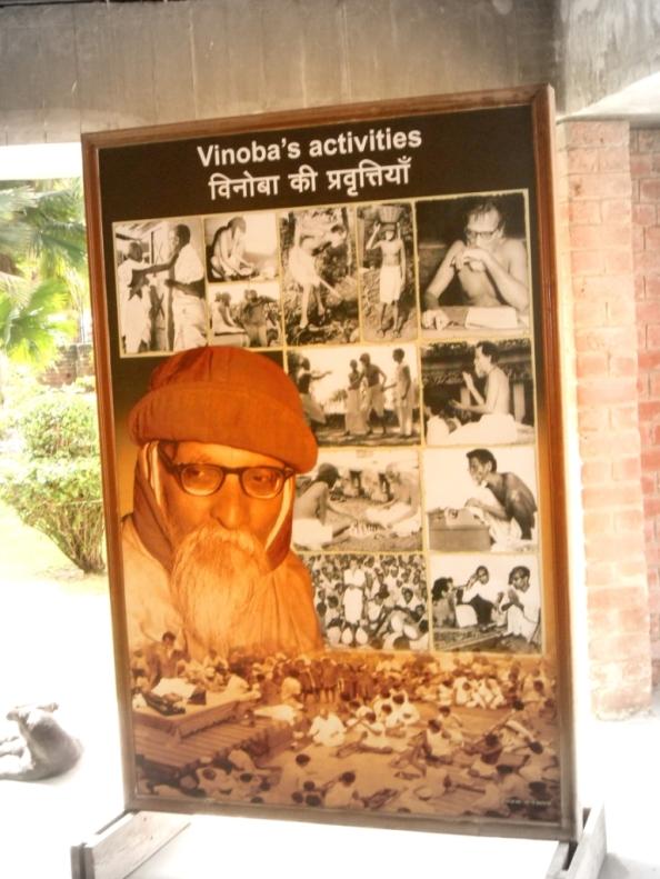 Vinoba's activities